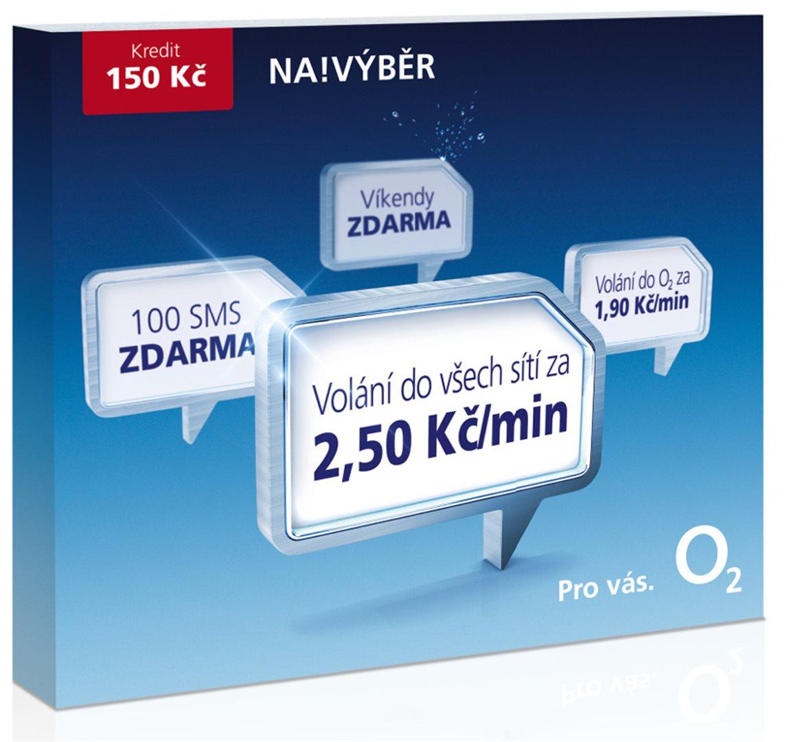 Jh Soft Ekatalog O2 Sim Karta Na Vyber 2 50 Kred 150 Kc