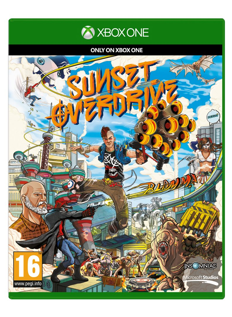 XBOX ONE - Sunset Overdrive