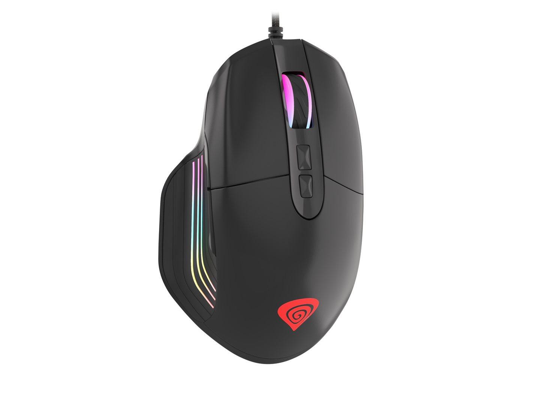 Herní optická myš Genesis Xenon 330, RGB podsvícení, software, 4000 DPI