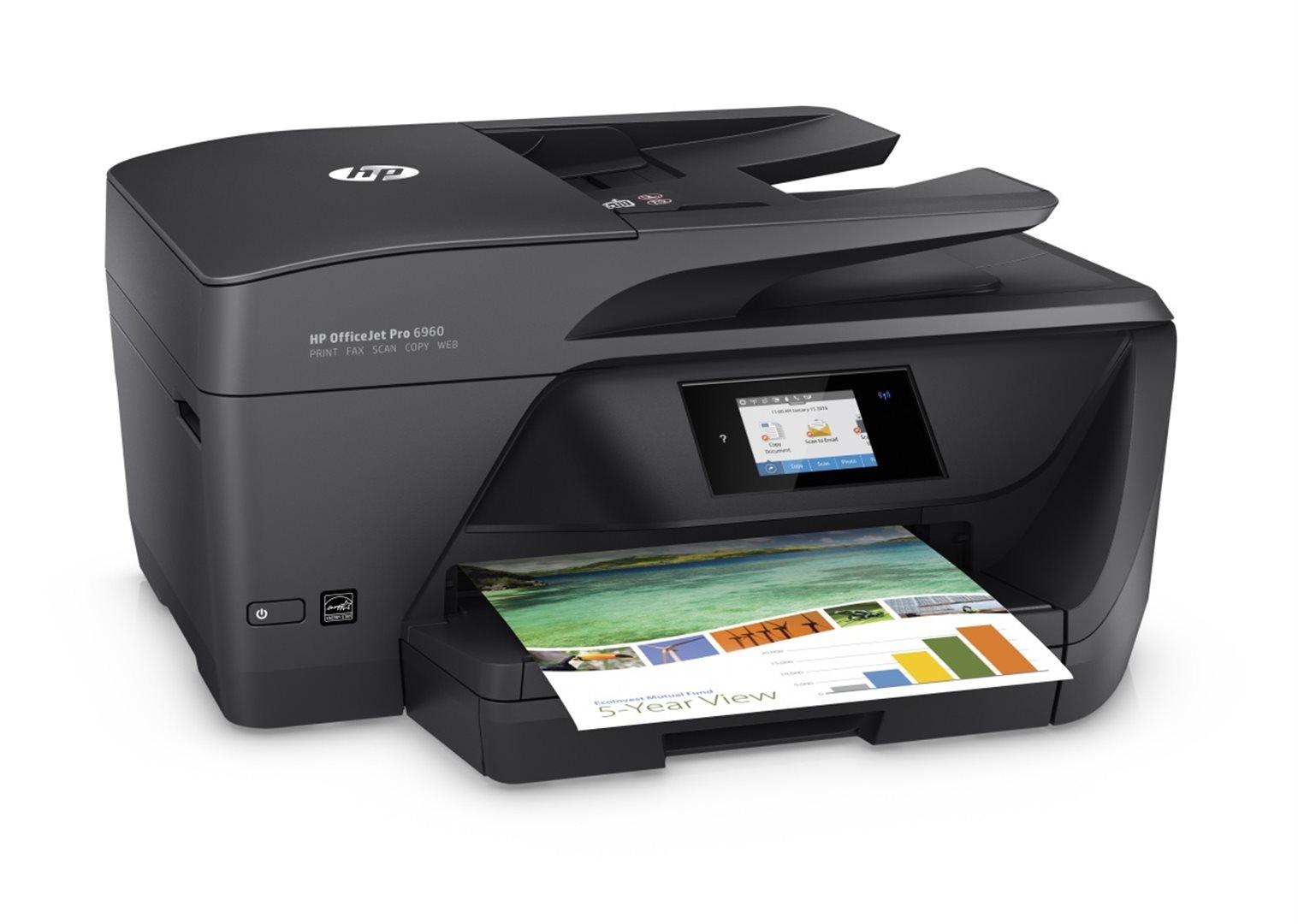 Inkoustová multifunkční tiskárna HP Officejet Pro 6960