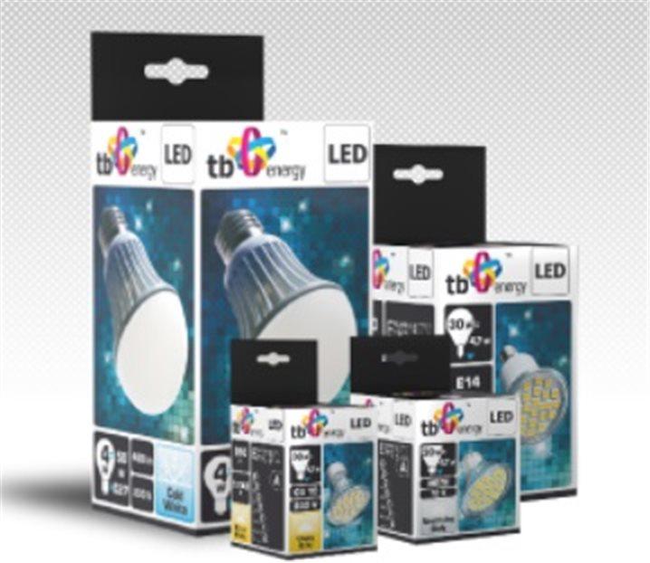 LED žárovka TB Energy E14 230, 5W, svíčka 400lm