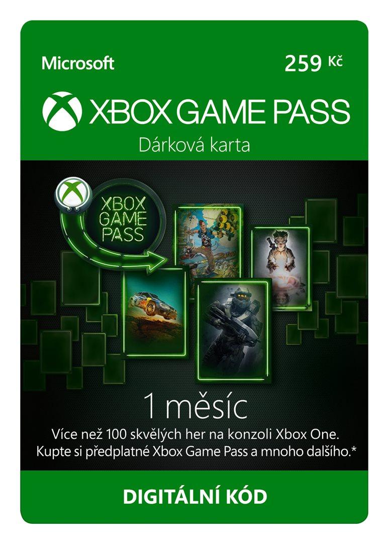 Esd Xbox Game Pass Darkova Karta 259 Kc Predplatne Na 1 Mesic
