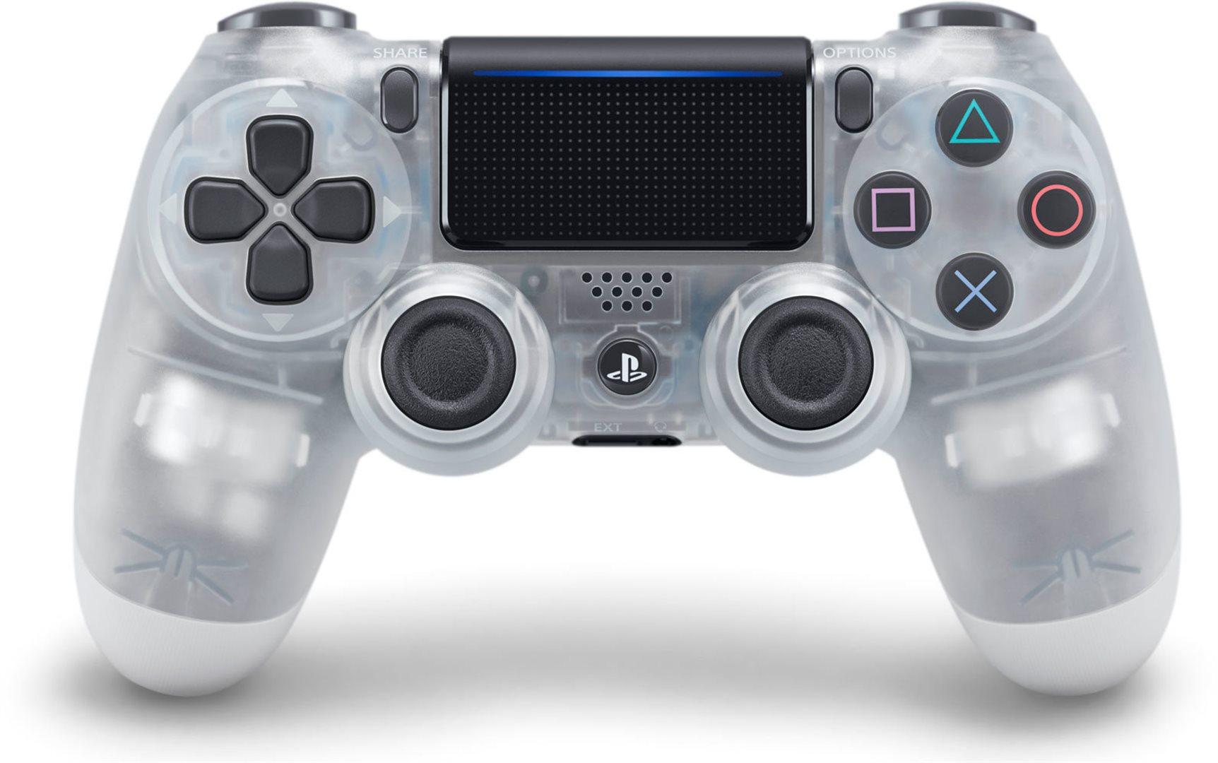 PS4 - DualShock 4 Controller Crystal v2 - 27.7.2019