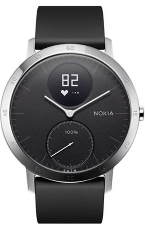 Nokia Steel HR 40mm - černá