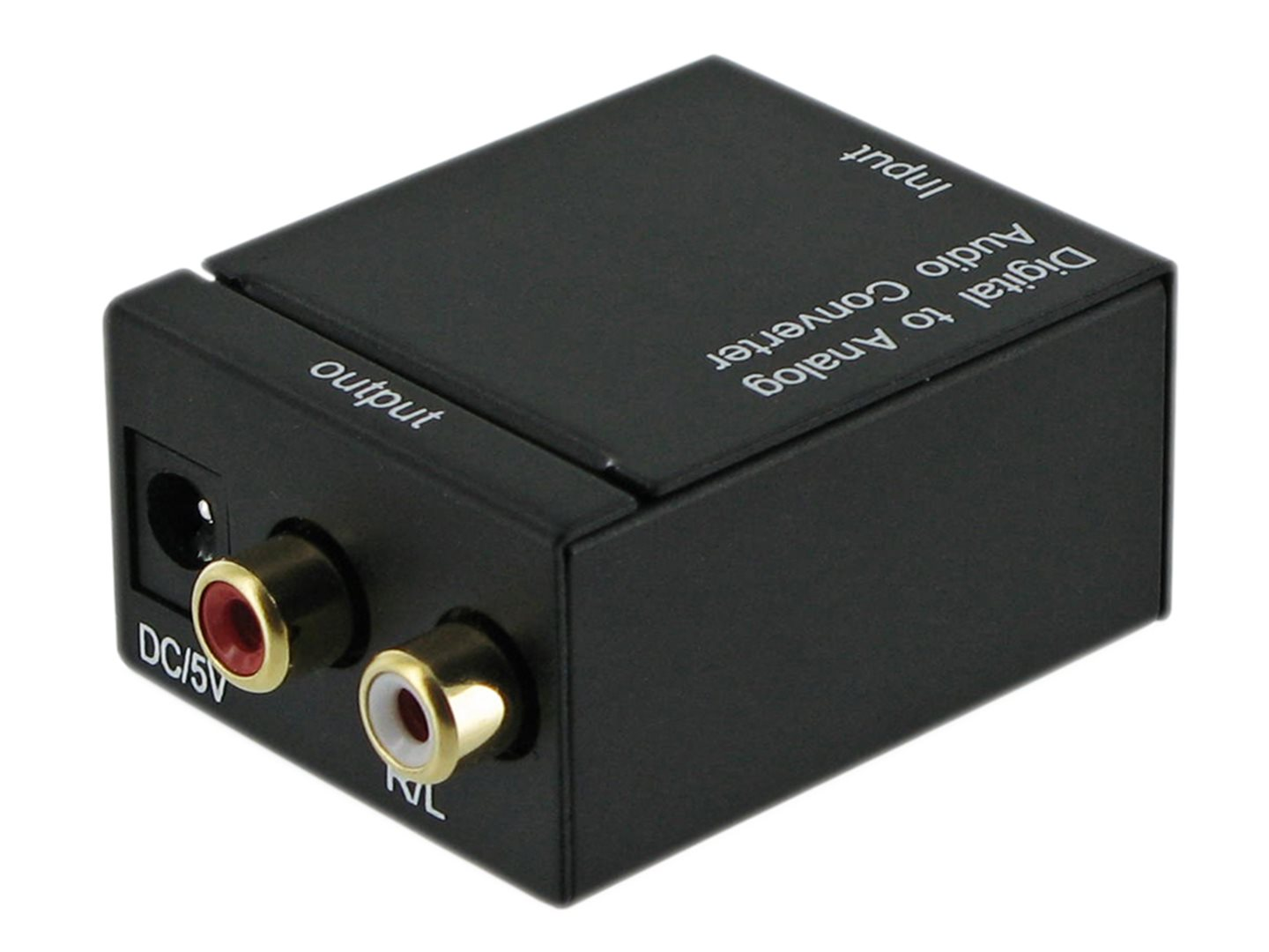 4World Audio převodník Digital/Toslink-R/L Audio