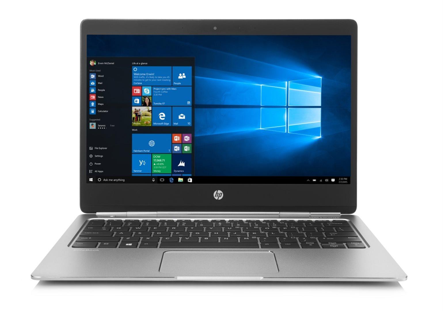 HP Folio G1 12.5 FHD /M5-6Y54/8G/256SSD/HDMI/MCR/WIFI/BT/NFC/MCR/FPR/3Rservis/W10P