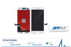 NTSUP LCD modul iPhone 8 PLUS bílý kvalita B 64f518264ca