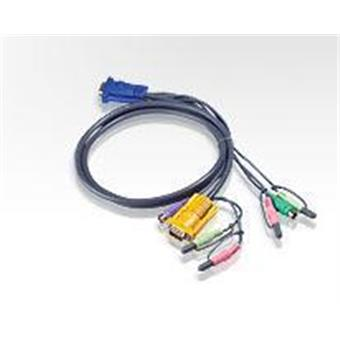 ATEN KVM sdruž. kabel k CS-1732,34,54,58, PS2, 3m