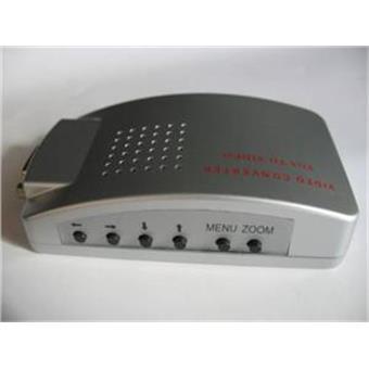 Převodník signálu z PC ->TV cinch + s-video