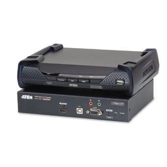 ATEN 4K HDMI KVM, OverNet, rack, USB,audio, RS-232