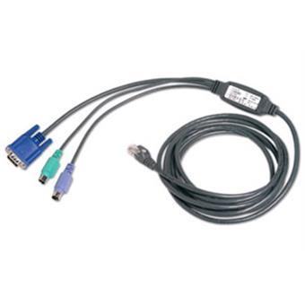 AutoView integrovaný CAT5 kabel PS/2, 2,1 m