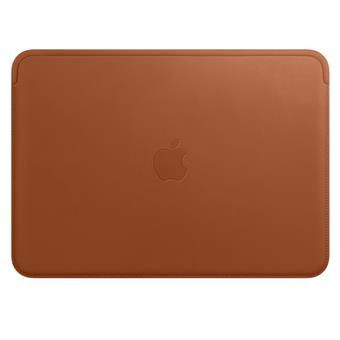 Leather Sleeve pro MacBook 12 - Saddle Brown