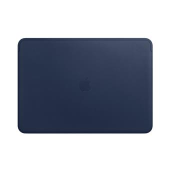 Leather Sleeve pro MacBook Pro 15 - Midnight Blue