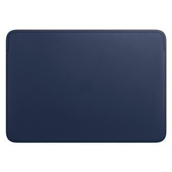 Leather Sleeve pro MacBook Pro 16 - Midnight Blue