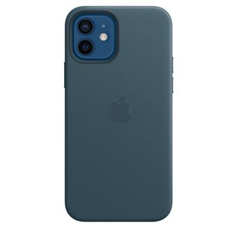 iPhone 12/12 Pro Leather Case with MagSafe B.Blue
