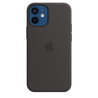 iPhone 12/12 Pro Silicone Case w MagSafe Black