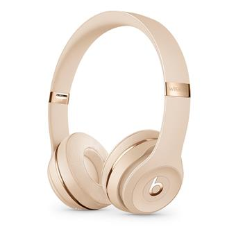 Beats Solo3 WL Headphones - Satin Gold