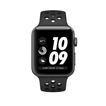 Watch Nike+, 42mm, Sp Grey/Ant+Black Nike Band