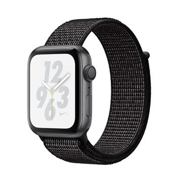Watch Nike+, S4, 44mm, Sp Grey/Black Sport Loop