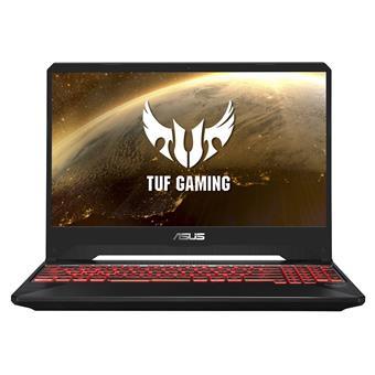 """ASUS TUF Gaming FX505GE - 15,6""""/i7-8750H/256SSD/8G/GTX1050Ti/W10 černý"""
