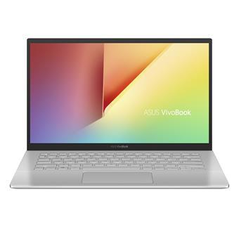 """ASUS VivoBook S420UA - 14""""/i3-7020U/256SSD/4G/W10 stříbrný"""