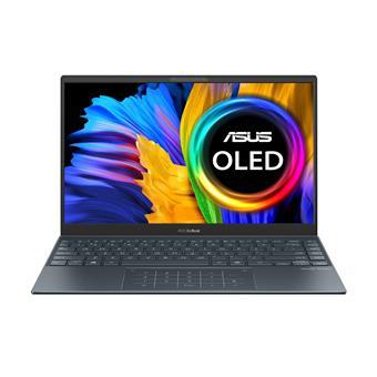 """ASUS ZenBook 13 OLED - 13,3"""" OLED/R5-5500U/8G/512GB SSD/W10H (P.Grey/Alum) + Záruka 3Y PICKUP&RETURN"""