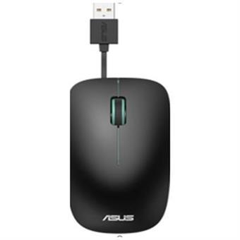 ASUS UT300 drátová myš - černo-modrá