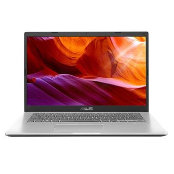 """ASUS Laptop M409DA - 14"""" FHD/AMD Athlon Silver 3050U/4GB/256GB SSD/W10 Home (Transp. Silver/Plastic)"""