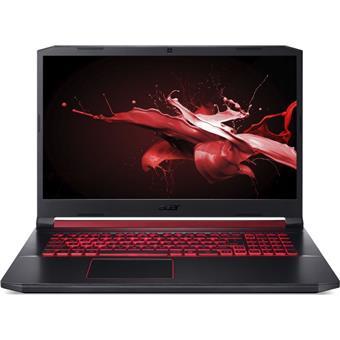 """Acer Nitro 5 - 17,3""""/i7-9750H/2*8G/512SSD+1TB/GTX1650/120Hz/W10 černý"""