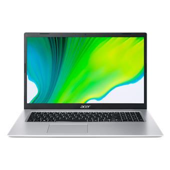 """Acer Aspire 3 - 17,3""""/N4500/4G/128SSD/W10S stříbrný"""