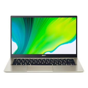 "Acer Swift 1 - 14""/N6000/4G/128SSD NVMe/IPS FHD/W10S zlatý + Microsoft 365"
