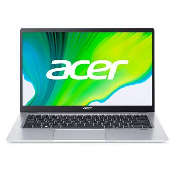 "Acer Swift 1 - 14""/N6000/4G/128SSD NVMe/IPS FHD/W10S stříbrný + Microsoft 365"