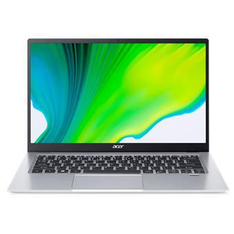 """Acer Swift 1 - 14""""/N6000/8G/256SSD NVMe/IPS FHD/W10 stříbrný"""