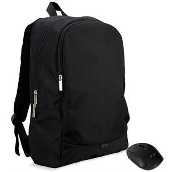 """Acer STARTER KIT batoh 15,6"""" černý + bezdrátová myš"""