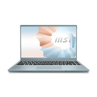 """MSI Modern 14"""" FHD/i3-1115G4/8/512/INT/W10H/modrá"""
