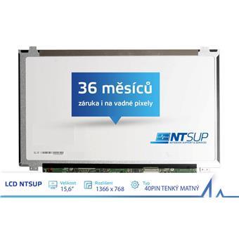 """LCD PANEL NTSUP 15,6"""" 1366x768 40PIN TENKÝ MATNÝ"""