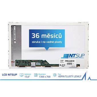 """LCD PANEL NTSUP 15,6"""" 1366x768 40PIN TLUSTÝ LESKLÝ"""