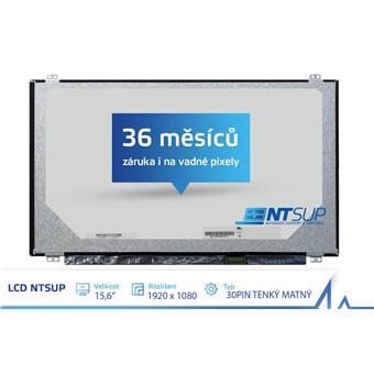 """LCD PANEL NTSUP 15,6"""" 1920x1080 30PIN TENKÝ MATNÝ"""