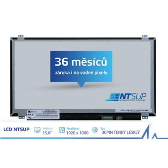 """LCD PANEL NTSUP 15,6"""" 1920x1080 30PIN TENKÝ LESKLÝ"""