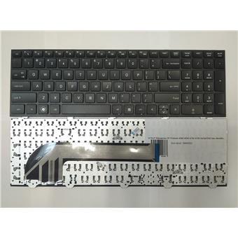 NTSUP Klávesnice HP Probook 4540 4545 4740 4745 černá ENG bez rámečku