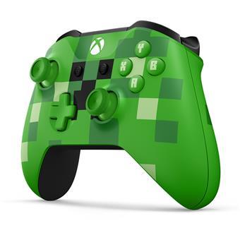 XBOX ONE - Bezdrátový ovladač Xbox One Minecraft Creeper