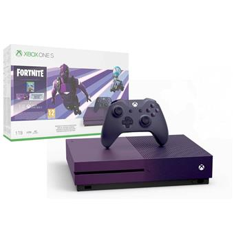 XBOX ONE S 1 TB + Fortnite Battle Royale Special Edition (Violet Colour)