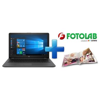 HP 250 G6 i3-6006U FHD/4/256SSD/DVD/W10 + voucher fotolab 900kč!