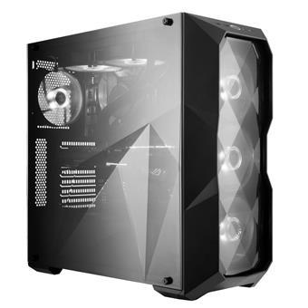 case Cooler Master MasterBox TD500L, 2x USB3.0, design diamantového řezu, černá, ATX, bez zdroje