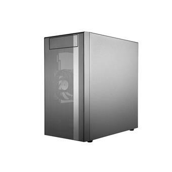 case Cooler Master MasterBox NR400, 2x USB3.0, Micro-ATX/Mini-ITX, černá, bez zdroje