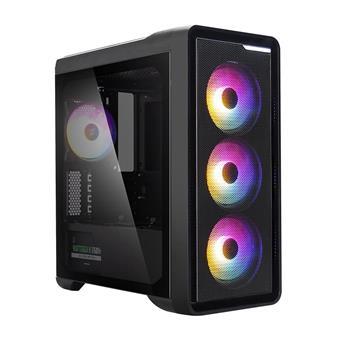 case Zalman minitower M3 PLUS RGB, mATX, bez zdroje, USB3.0, černá