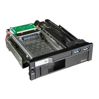 "AKASA Lokstor M51 - 2.5"" a 3.5"" HDD rack do 5,25"""