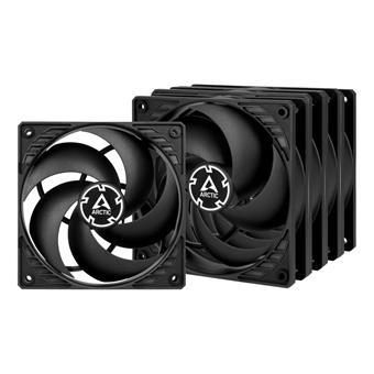 ARCTIC P12 PWM PST Value Pack (black/black)