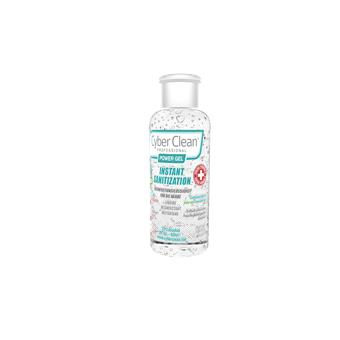 CyberClean POWER GEL - instant liquid sanitizer 2 oz / 60 ml (47030)