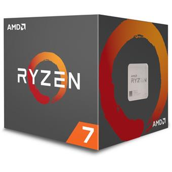CPU AMD Ryzen 7 2700X 8core (3,7GHz) Wraith Prism
